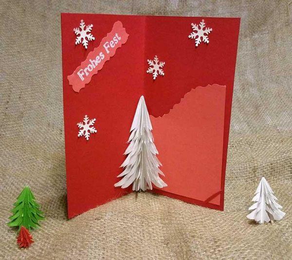 3d pop up karte mit tannenbaum f r weihnachten selber basteln. Black Bedroom Furniture Sets. Home Design Ideas