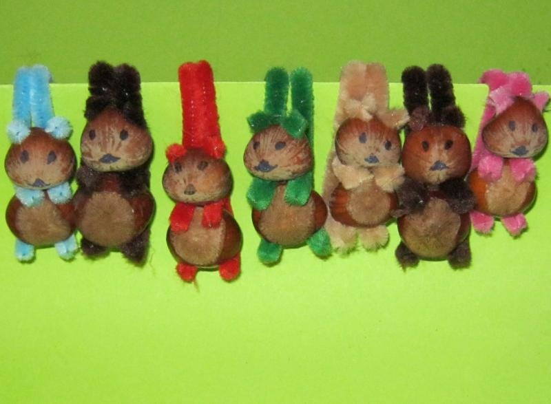 Eichhörnchen basteln